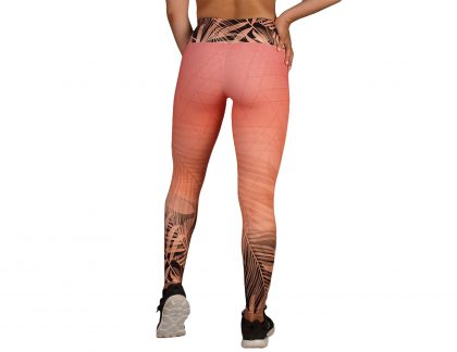 Leggings desporto cintura subida